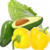 【PSD】蔬菜分層圖片