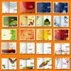 畫冊封面 AI矢量圖庫 平面設計素材 矢量封面下載 畫冊設計模板