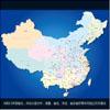 中華人民共和國地圖展板AI矢量源文件下載 中國地圖AI 中國地圖CDR
