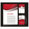 工作證設計模板 胸卡模板下載 員工卡CDR矢量素材