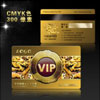 尊貴高檔VIP龍卡PDS下載 PSD分層模板 VIP卡設計模板下載 貴賓卡模板