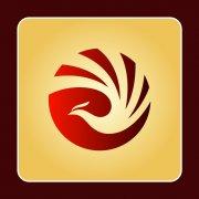 凤凰logo设计 旅游标志设计