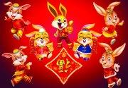 2011春节兔年