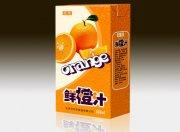 果粒鲜橙汁