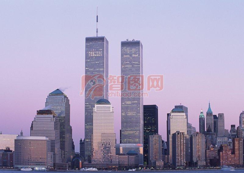 【jpg】世贸大厦摄影 美国大楼摄影