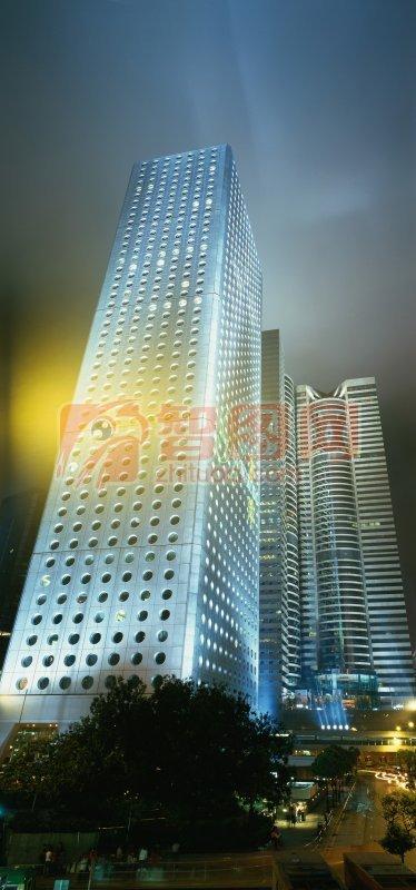 香港高楼大厦建筑摄影