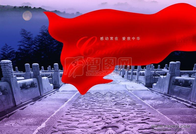藏圖文化海報設計