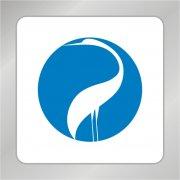 白色天鹅吉祥标志