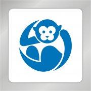 卡通标志 猴子标志