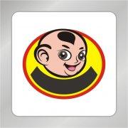人物标志 卡通 卡通logo