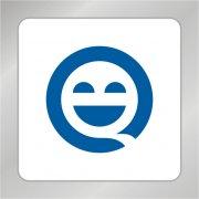 卡通笑脸标志