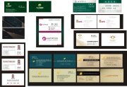 行業名片設計模板
