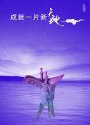 淡紫色背景設計