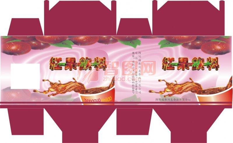 红果饮料包装