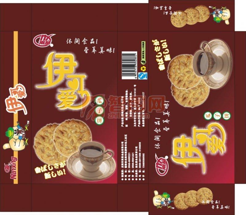 葵花籽饼干包装