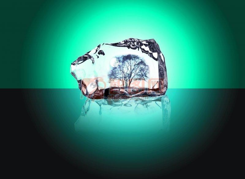 水晶背景素材