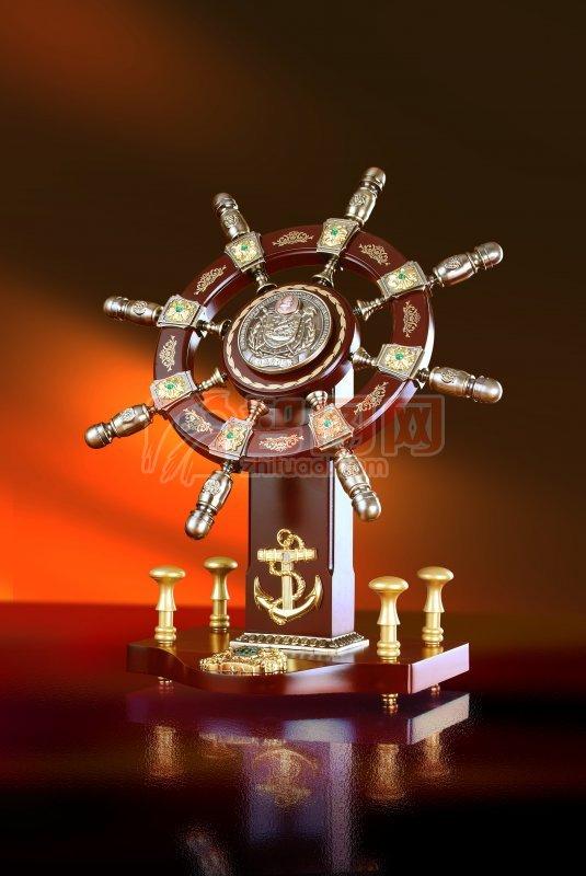 船舵装饰设计