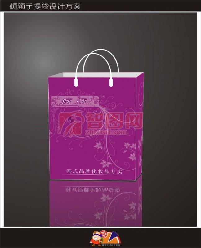 韩式化妆品手提袋包装