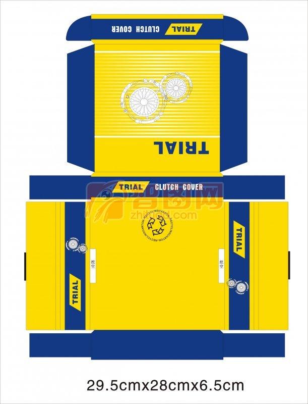 【cdr】纸盒包装设计