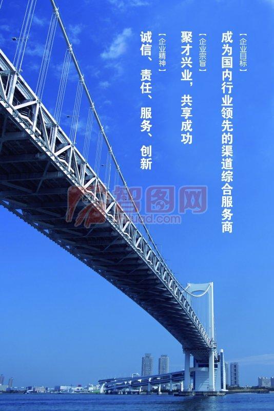 跨海大橋背景設計