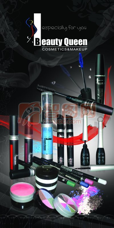 化妆用品海报素材