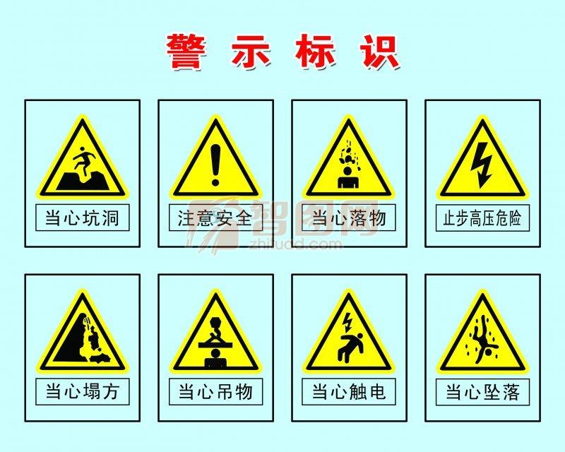 警示提示模版设计