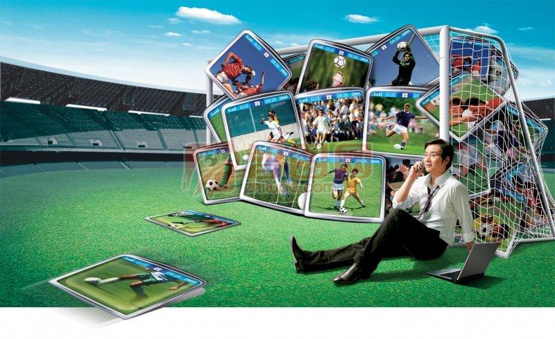 体育类海报
