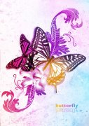 蝴蝶飛舞海報