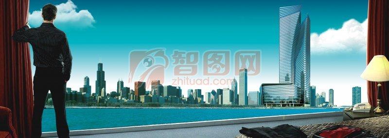 城市房地产海报设计