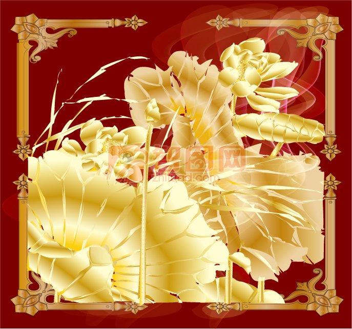 花紋花邊設計