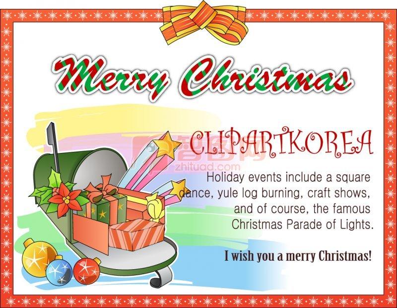 圣诞贺卡设计