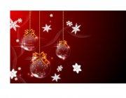 紅色圣誕節設計