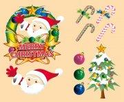 韩国圣诞节素材 卡通圣诞节素材