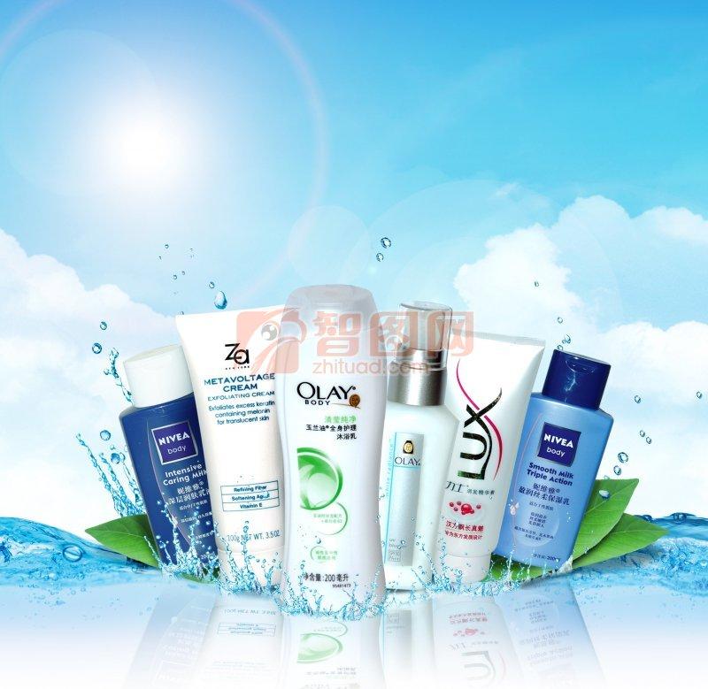 化妆品广告设计模板 设计 平面设计 海报设计
