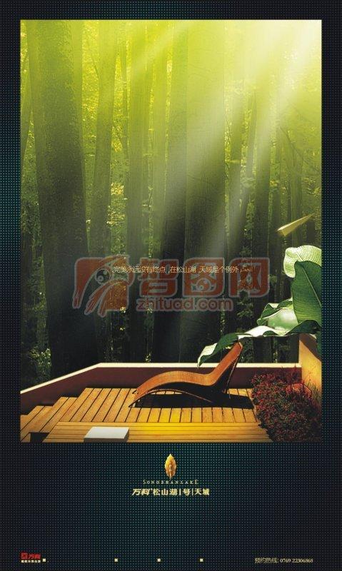 大自然的舒适海报