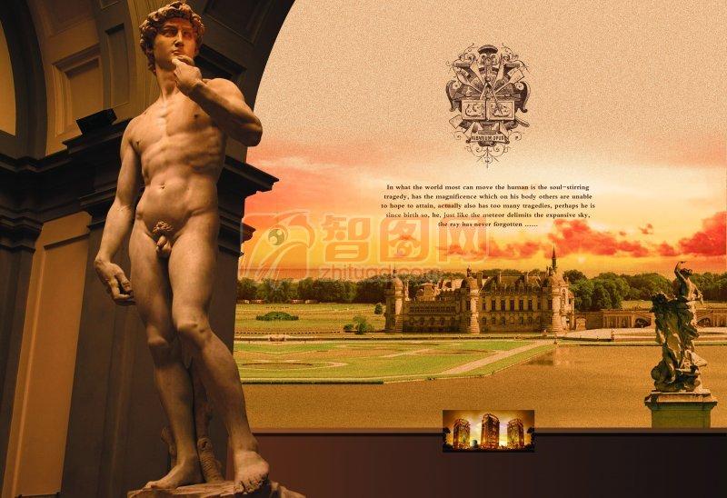 欧美建筑与雕像
