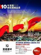 建材企业10周年庆典
