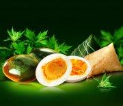 端午節高清蛋黃棕 畫冊模板