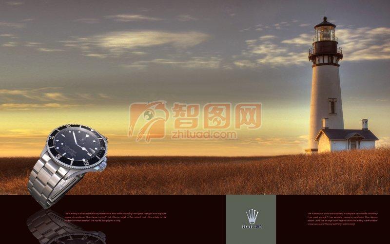手表海報設計
