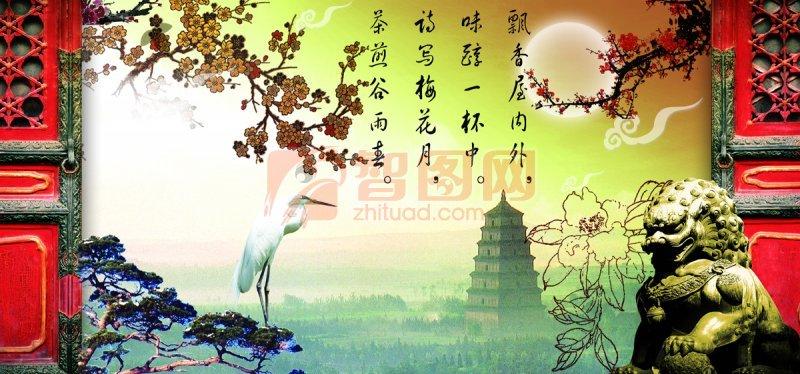 关键词: 中秋节元素 诗歌素材 石狮子 中秋设计元素 中秋节素材 说明