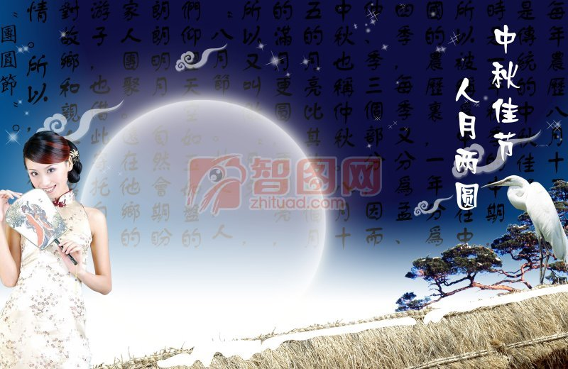中秋节海报宣传设计