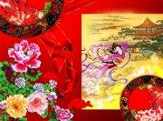古典喜慶中秋節設計素材