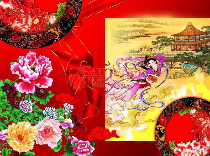 中秋节月饼包装设计图片