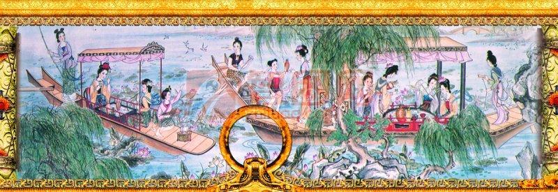 清明节设计专题 中国传统节日古典色彩