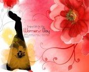 3.8妇女节促销 浪漫女人节海报