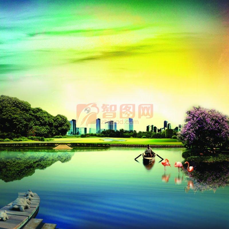 城市景观素材
