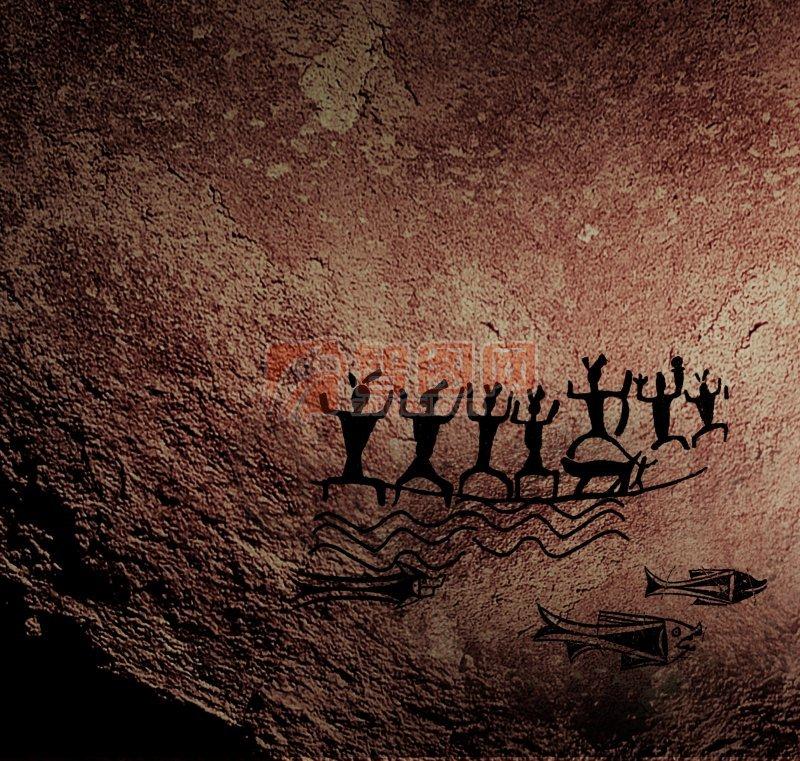【psd】岩石创意海报