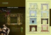 壁炉画册设计