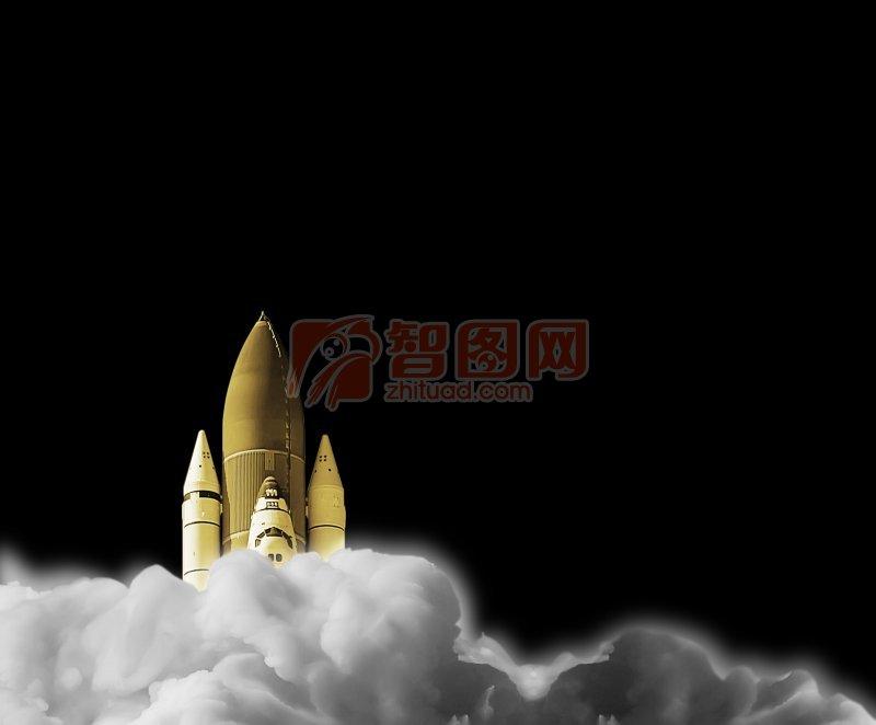 火箭海报设计