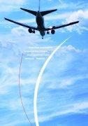 蓝色背景飞机主题海报
